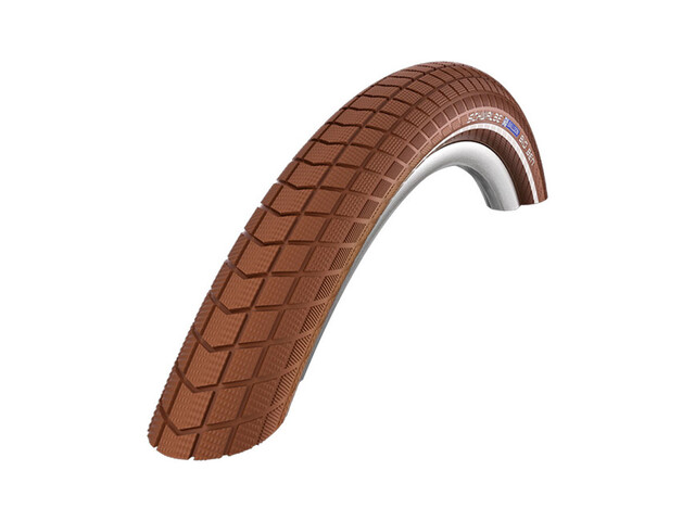 "SCHWALBE Big Ben Bike Tyre Active 28"" K-Guard Twin, wire bead brown"